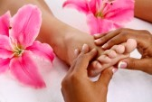 ontspanningsmassage benen voeten